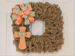 diy square burlap easter wreath the wreath depot
