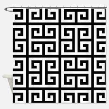Greek Key Pattern Curtains Greek Key Shower Curtains Cafepress