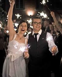 sparklers for weddings amazing fireworks and sparklers from real weddings martha