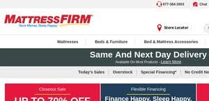 mattress firm black friday mattressfirm reviews 33 reviews of mattressfirm com sitejabber