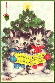 meowy christmas we wish you a meowy christmas and a happy new year by cjlutje on