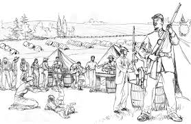 pictures civil war coloring pages 11 with additional free coloring