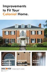 colonial home remodeling projects for your colonial style home discover