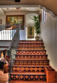 italian home decorations mediterranean spanish style homes interior stairs decor home