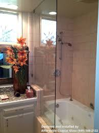 laguna beach glass railing and shower doors affordable coastal