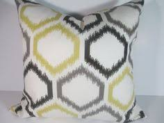 ON SALE Yellow Decorative Pillow Covers 18 x 18 Moroccan Tile