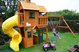 Landscaping Ideas For Big Backyards by Playground Backyard Image With Remarkable Outdoor Play Equipment