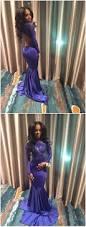 african open back royal blue mermaid prom dresses 2017 satin