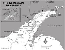 Michigan Upper Peninsula Map Keweenaw Peninsula Michigan Image Gallery Hcpr