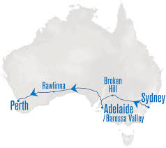 New Zealand On Map Indian Pacific Map Rail Plus New Zealand