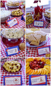 circus themed baby shower food ideas zone romande decoration