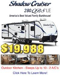 Shadow Cruiser Floor Plans Tailgate Time Vogt Rv Centers Fort Worth Texas
