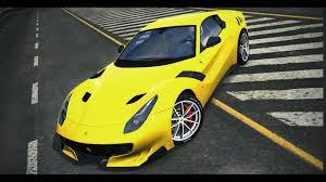 ferrari yellow interior trackmania carpark u2022 3d models u2022 ferrari f12tdf