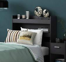 Black Bookcase Headboard Twin Bookcase Headboard Ebay