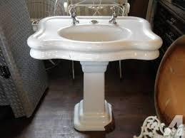 cost of pedestal sink antique pedestal sink shellecaldwell com
