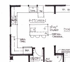 dimension kitchen layout and design impressive model patio by