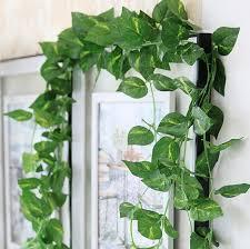 silk plants 2018 artificial decorative vine silk plants leaves foliage