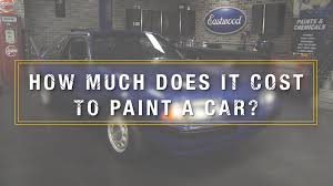 how much does it cost to paint a car kevin tetz on professional