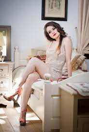 tight dress beautiful woman in white tight dress posing