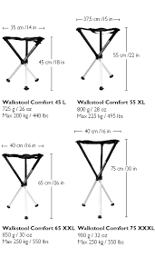 Walkstool Comfort 55 Walkstool Dreibein Hocker Comfort Bei Augenblicke Eingefangen Shop