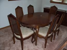 drexel heritage dining table drexel heritage dining table and chairs ebth interesting vintage