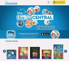 read disney books on disney story central