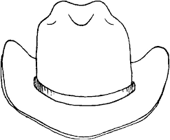 cowboy hats free coloring pages art coloring pages