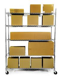 Metal Utility Shelves by Trinity 5 Tier Heavy Duty Wire Shelving Rack 60