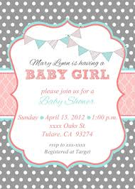 Baby Shower Announcement Wording Beautiful Cute Pink Invitation White Background Baby Shower Invite