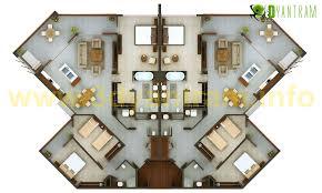 plan floor 3d floor plan design yantramstudio s portfolio on archcase