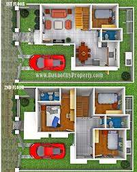 Two Storey Residential Floor Plan Sample Floor Plan Residential Houses