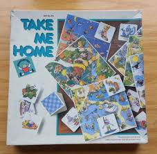 Map Me Home Rare Vintage Complete Take Me Home Discovery Toys 1987 Map