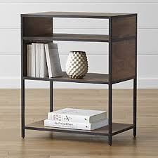 Beech Bookshelves by Bookcases Wood Metal And Glass Crate And Barrel
