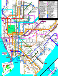 Metro Map New York by My New Fantasy 2011 Subway Map New York City Subway Nyc