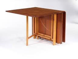 Wood Folding Dining Table Bruno Mathsson Karl Mathsson Folding Dining Table Do Domu