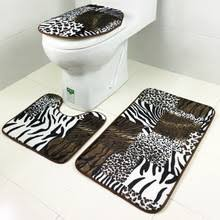 bath mats set popular leopard bath rugs buy cheap leopard bath rugs lots from