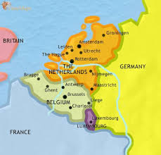 map of the countries map of the low countries at 1914ad timemaps