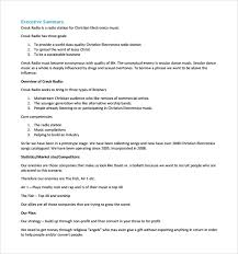 startup business plan template components of a business plan