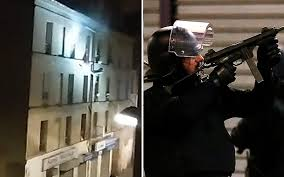 citroen siege social telephone attacks raid apartment in denis as it
