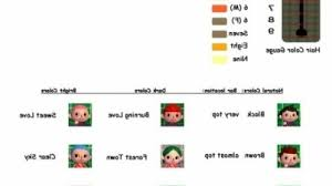 acnl hair acnl hair color guide hairstyles ideas
