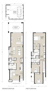 houses design plans narrow but large 2 storey home with 5 bedrooms plus a study and 3
