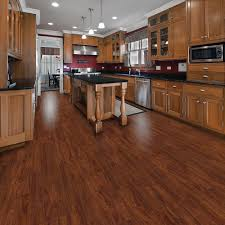 Kitchen Cabinet Base Molding Flooring Brown Allure Vinyl Plank Flooring Matched With Olive