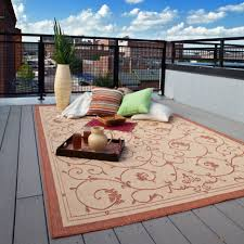 Rug Outdoor Couristan Recife Veranda Indoor Outdoor Area Rug Terra