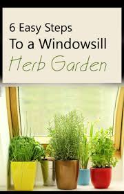 How To Build An Herb Garden How To Make A Windowsill Herb Garden 6 Easy Steps