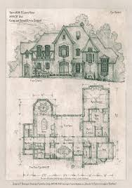 luxury estate plans a storybook cottage design additional plans elevations details