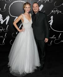 Jennifer Lawrence Home by Jennifer Lawrence And Darren Aronofsky Pose Together As The