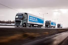 volvo group platoons of self driving trucks cross europe popular science
