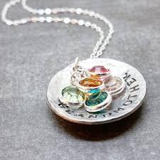 grandmother jewelry grandmother necklace with birthstones scifres handmade jewelry
