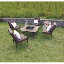 Fire Pit And Chair Set Fire Pit Table And Chair Set