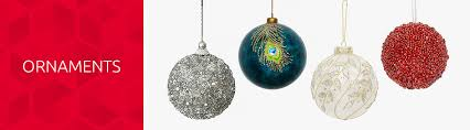 christmas tree ornaments at home